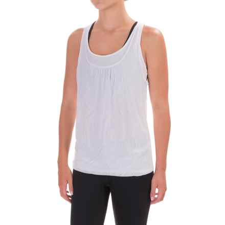 prAna Mika Tank Top - Scoop Neck, Racerback (For Women) in White Copa - Closeouts