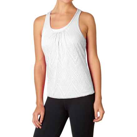 prAna Mika Tank Top - Scoop Neck, Racerback (For Women) in White - Closeouts
