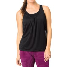 prAna Mikayla Tank Top - Burnout, Sleeveless (For Women) in Black Stripe - Closeouts