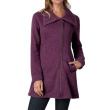 prAna Mila Jacket (For Women) in Black Plum - Closeouts