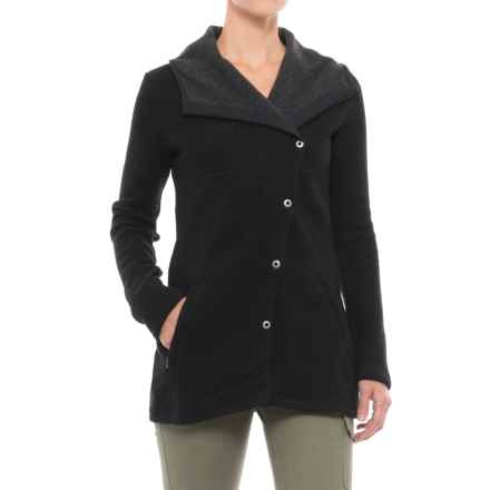 prAna Milana Jacket - Wool (For Women) in Black - Closeouts