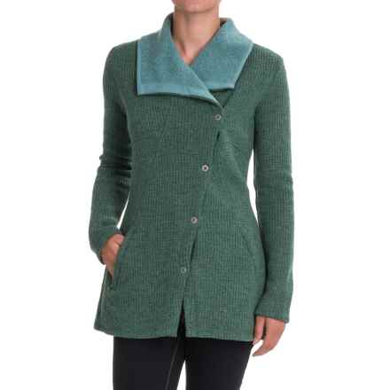 prAna Milana Jacket - Wool (For Women) in Deep Teal - Closeouts