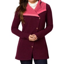 prAna Milana Jacket - Wool (For Women) in Redberry - Closeouts