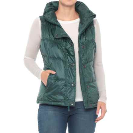 prAna Milly Down Vest (For Women) in Deep Balsam - Closeouts