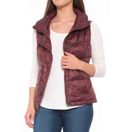 prAna Milly Down Vest (For Women) in Mahogany - Closeouts