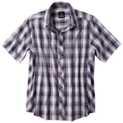prAna Milo Shirt - Organic Cotton, Short Sleeve (For Men) in Cargo Green