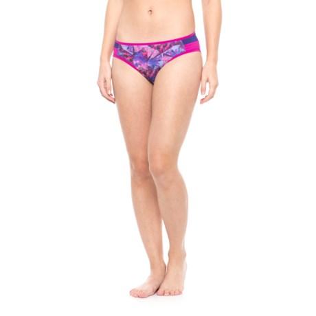 prAna Milou Bikini Bottoms - UPF 50+ (For Women) in Supernova Pinwheel