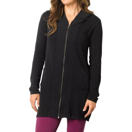 prAna Misha Duster Sweater Organic Cotton, Long Sleeve (For Women)