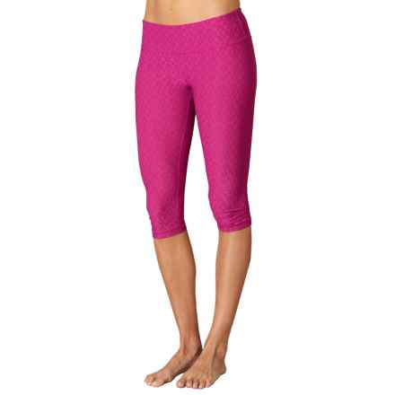 prAna Misty Capris - Low Rise (For Women) in Azalea Jacquard - Closeouts