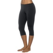 prAna Misty Capris - Low Rise (For Women) in Black - Closeouts