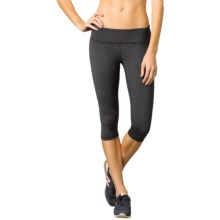 prAna Misty Capris - Low Rise (For Women) in Charcoal Heather - Closeouts