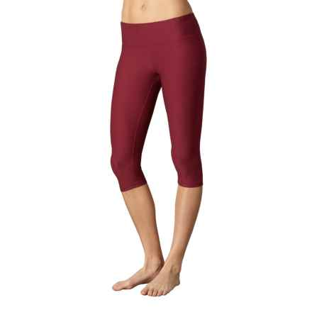prAna Misty Capris - Low Rise (For Women) in Red Jacquard - Closeouts