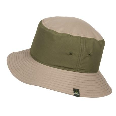 prAna Mojo Bucket Hat - UPF 50+ (For Men) in Khaki