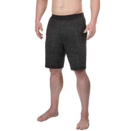 prAna Mojo Chakara Shorts (For Men) in Black Geo - Closeouts