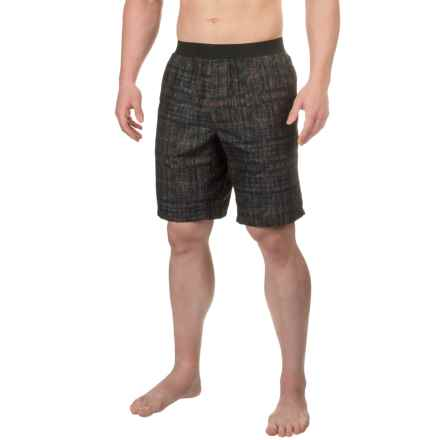 prAna Mojo Shorts (For Men) in Charcoal Hatch - Closeouts