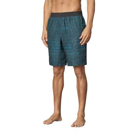 prAna Mojo Shorts (For Men) in Nautical Hatch - Closeouts