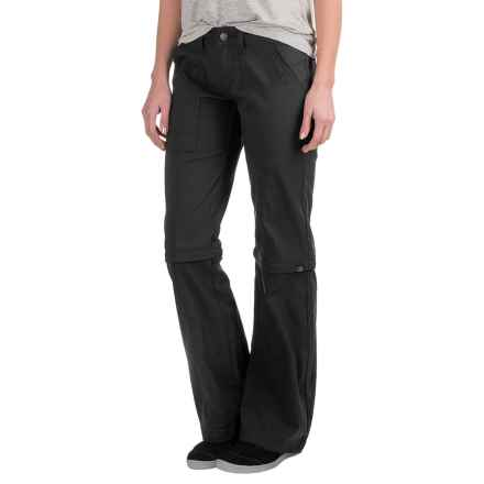 prAna Monarch Convertible Pants (For Women) in Black - Closeouts