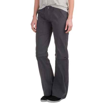 prAna Monarch Convertible Pants (For Women) in Coal - Closeouts