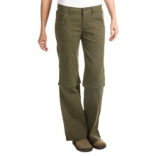 prAna Monarch Convertible Pants - Stretch Nylon (For Women) in Cargo Green - Closeouts