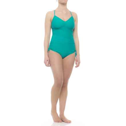 prAna Moorea One-Piece Swimsuit - Removable Cups (For Women) in Dragonfly - Closeouts