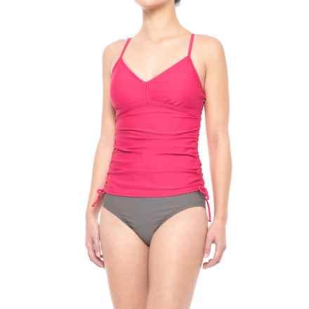 prAna Moorea Tankini Top - UPF 30+ (For Women) in Cosmo Pink - Closeouts