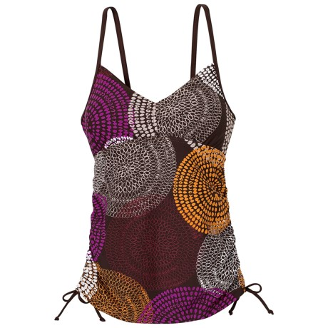 prAna Moorea Tankini Top - UPF 30+ (For Women) in Espresso Swirl