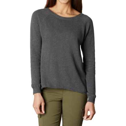 prAna Natalia Sweater (For Women) in Charcoal - Closeouts