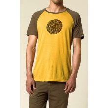 prAna Nautilus T-Shirt - Short Sleeve (For Men) in Mustard - Closeouts