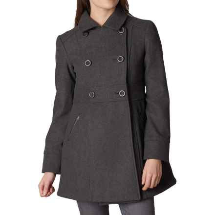 prAna Nicole Jacket - Recycled Wool (For Women) in Charcoal Heather - Closeouts
