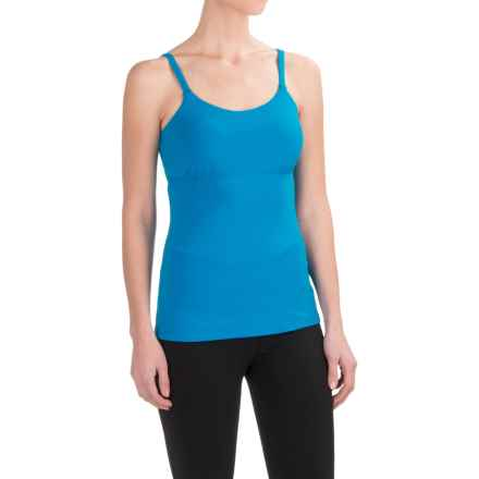 prAna Nixie Tank Top - Built-In Bra (For Women) in Electro Blue - Closeouts