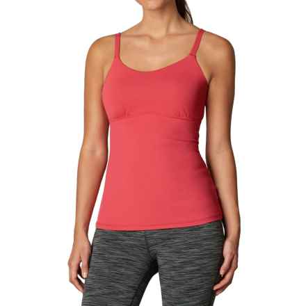 prAna Nixie Tank Top - Built-In Bra (For Women) in Sunwashed Red - Closeouts