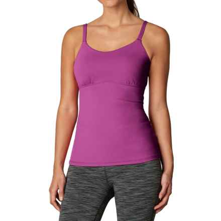 prAna Nixie Tank Top - Built-In Bra (For Women) in Vivid Viola - Closeouts