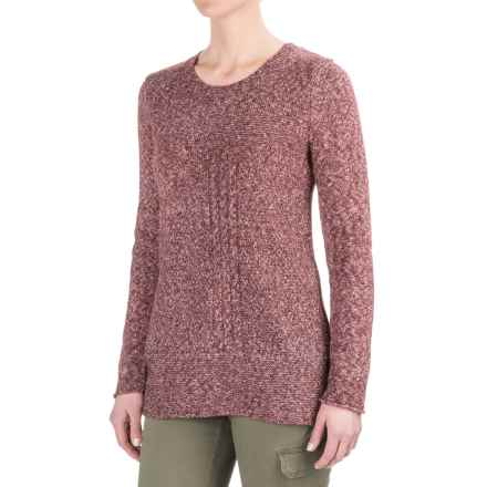 prAna Nolan Sweater (For Women) in Burgundy - Closeouts