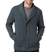prAna Norton Cardigan - Wool Blend (For Men) in Blue - Closeouts