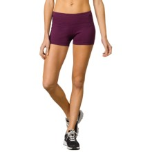 prAna Olympia Shorts (For Women) in Black Plum - Closeouts