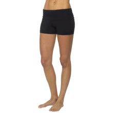 prAna Olympia Shorts (For Women) in Black - Closeouts