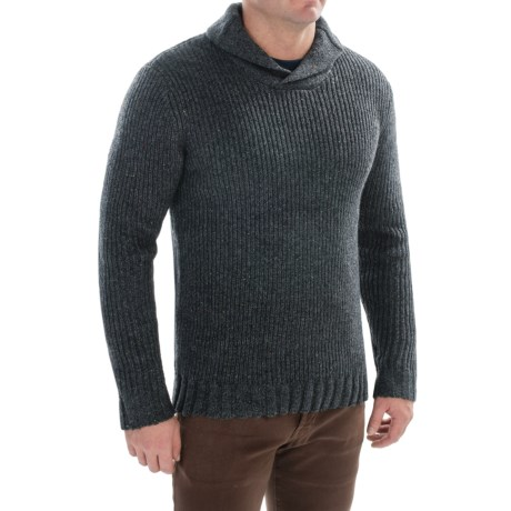 prAna Onyx Sweater (For Men) in Charcoal