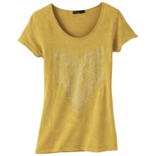 prAna Onyx T-Shirt - Organic Cotton, Short Sleeve (For Women) in Agave - Closeouts