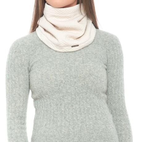 prAna Orla Infinity Scarf - Fleece (For Women) in Winter White