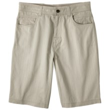prAna Otto Shorts - Stretch Cotton (For Men) in Sand - Closeouts