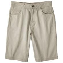 prAna Otto Shorts - Stretch Cotton (For Men) in Sand - Closeouts