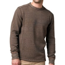 prAna Owen Sweater - Wool Blend (For Men) in Espresso Heather - Closeouts