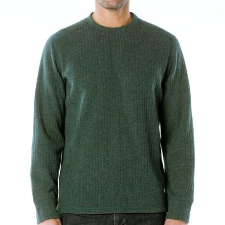 prAna Owen Sweater - Wool Blend (For Men) in Pineneedle