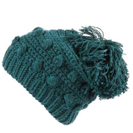 prAna Pammy Beanie (For Women) in Deep Teal - Closeouts
