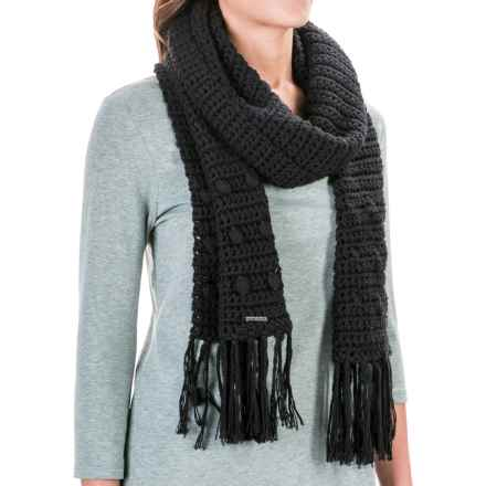 prAna Pammy Scarf (For Women) in Black - Closeouts