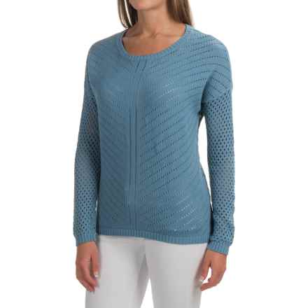 prAna Parker Sweater - Organic Cotton (For Women) in Dusky Skies - Closeouts