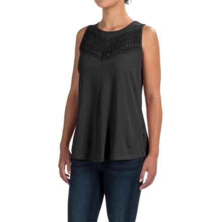 prAna Petra Swing Tank Top - Organic Cotton (For Women) in Black - Closeouts