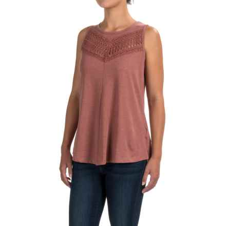 prAna Petra Swing Tank Top - Organic Cotton (For Women) in Lacquered Rose - Closeouts