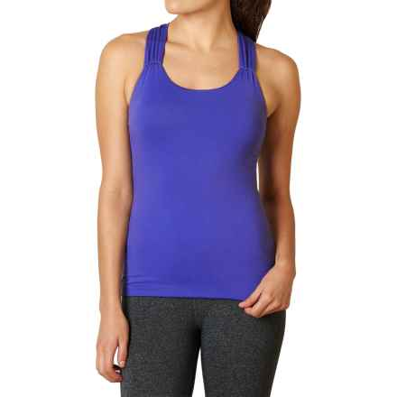 prAna Phoebe Tank Top - Built-In Bra, Racerback (For Women) in Cobalt - Closeouts