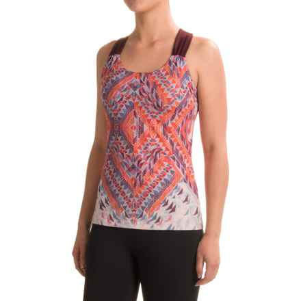 prAna Phoebe Tank Top - Built-In Bra, Racerback (For Women) in Fireball Firefly - Closeouts
